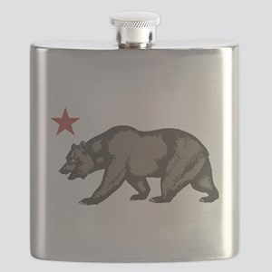 California Bear with star Flask