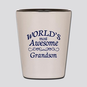 Awesome Grandson Shot Glass