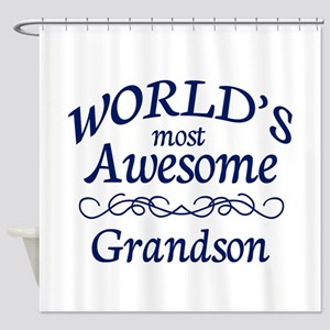 Awesome Grandson Shower Curtain