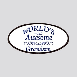 Awesome Grandson Patches