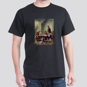 Declaration of Independence 1776 Dark T-Shirt