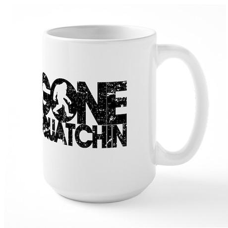 Gone Squatchin Large Mug