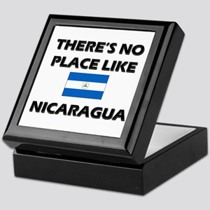 There Is No Place Like Nicaragua Keepsake Box