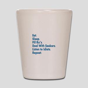 pharmacist Ceramic mug Shot Glass