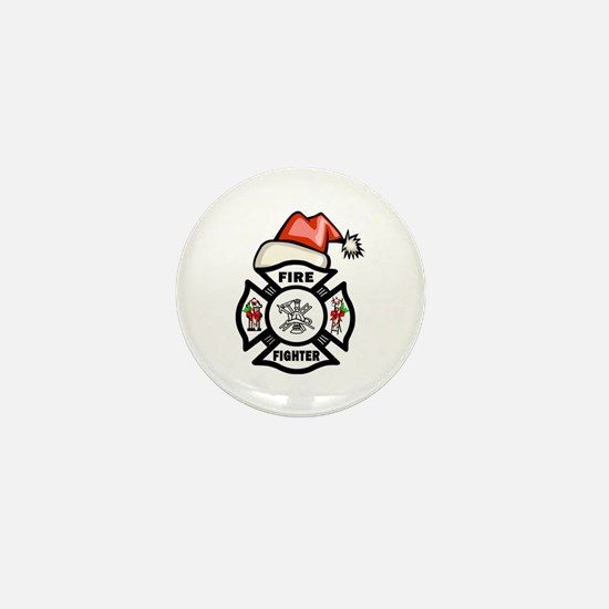 Cute Fire dept Mini Button