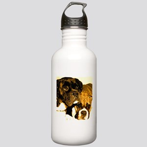 Boxer Dog Friends Stainless Water Bottle 1.0L