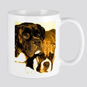 Boxer Dog Friends Mug