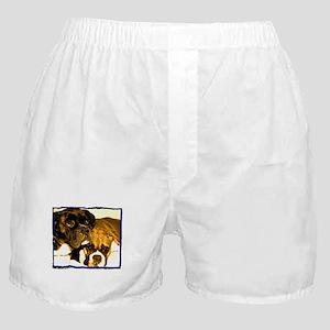 Boxer Dog Friends Boxer Shorts