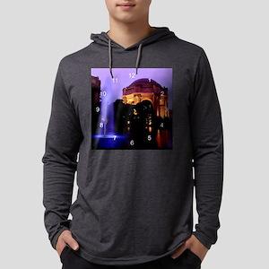 Palace of Fine arts clock 2 Mens Hooded Shirt
