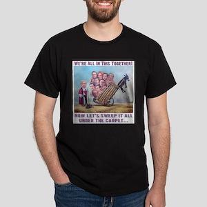 T-Shirt: Leveson Inquiry Dark T-Shirt