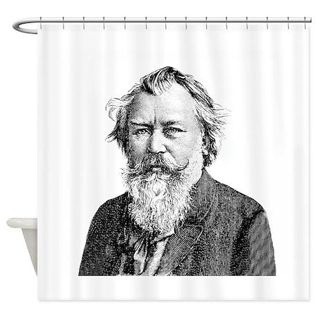 Brahms Shower Curtain