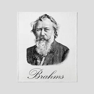Brahms Throw Blanket