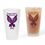 Domestic Violence Awareness Butterfly Ribbon Drink