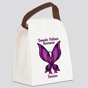 Domestic Violence Awareness Butterfly Ribbon Canva