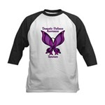 Domestic Violence Awareness Butterfly Ribbon Kids