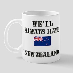Flag of New Zealand Mug