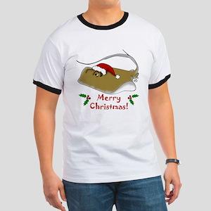 Christmas Stingray Ringer T