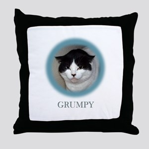 Grumpy Cats Throw Pillow