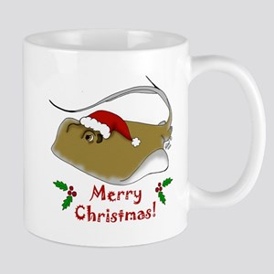 Christmas Stingray Mug