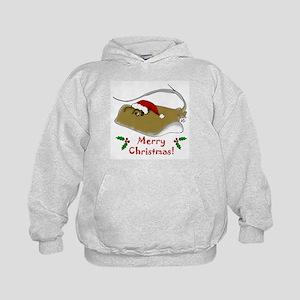 Christmas Stingray Kids Hoodie