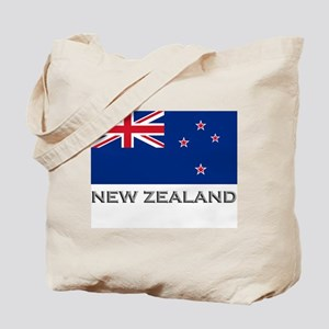 New Zealand Flag Stuff Tote Bag