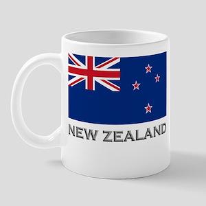 New Zealand Flag Stuff Mug