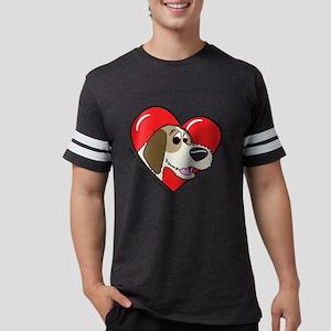 heartpbgv Mens Football Shirt