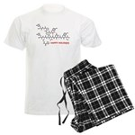 molecularshirts.com Happy Holidays Men's Light Paj