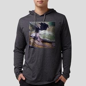 alligatorsnapper Mens Hooded Shirt