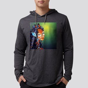 kendrabox Mens Hooded Shirt