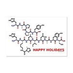 molecularshirts.com Happy Holidays Mini Poster Pri