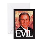 True Face of Evil Greeting Cards (Pk of 10)