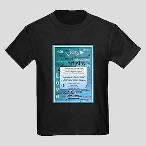 LIBRA BIRTHDAY Kids Dark T-Shirt
