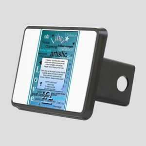 LIBRA BIRTHDAY Rectangular Hitch Cover