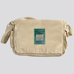 LIBRA BIRTHDAY Messenger Bag