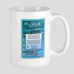 LIBRA BIRTHDAY Large Mug