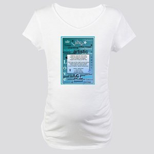 LIBRA BIRTHDAY Maternity T-Shirt