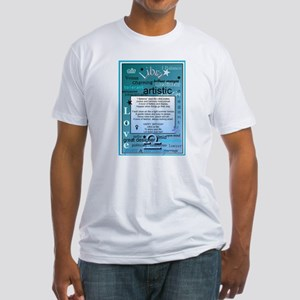 LIBRA BIRTHDAY Fitted T-Shirt