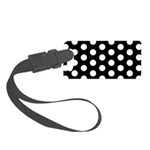 Polka Dots Small Luggage Tag
