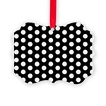 Polka Dots Picture Ornament