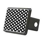 Polka Dots Rectangular Hitch Cover