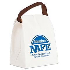 NAFE Member Logo Canvas Lunch Bag
