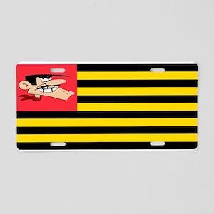 Flag Daltons Aluminum License Plate