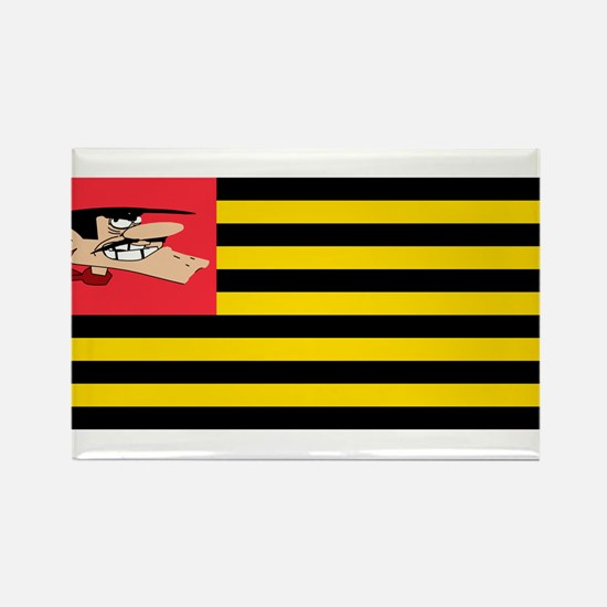 Flag Daltons Rectangle Magnet