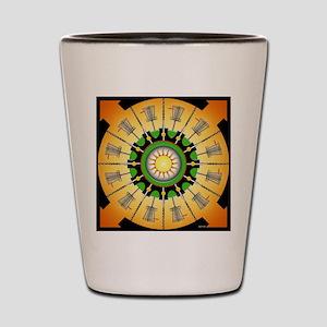 Sunny Baskets Shot Glass