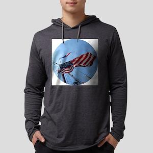 TallShipMastCIR Mens Hooded Shirt