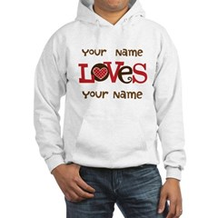 Personalized Love Hoodie