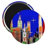 Philadelphia Starry Night Magnet
