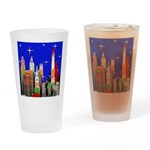 Philadelphia Starry Night Drinking Glass