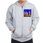 Philadelphia Starry Night Zip Hoodie